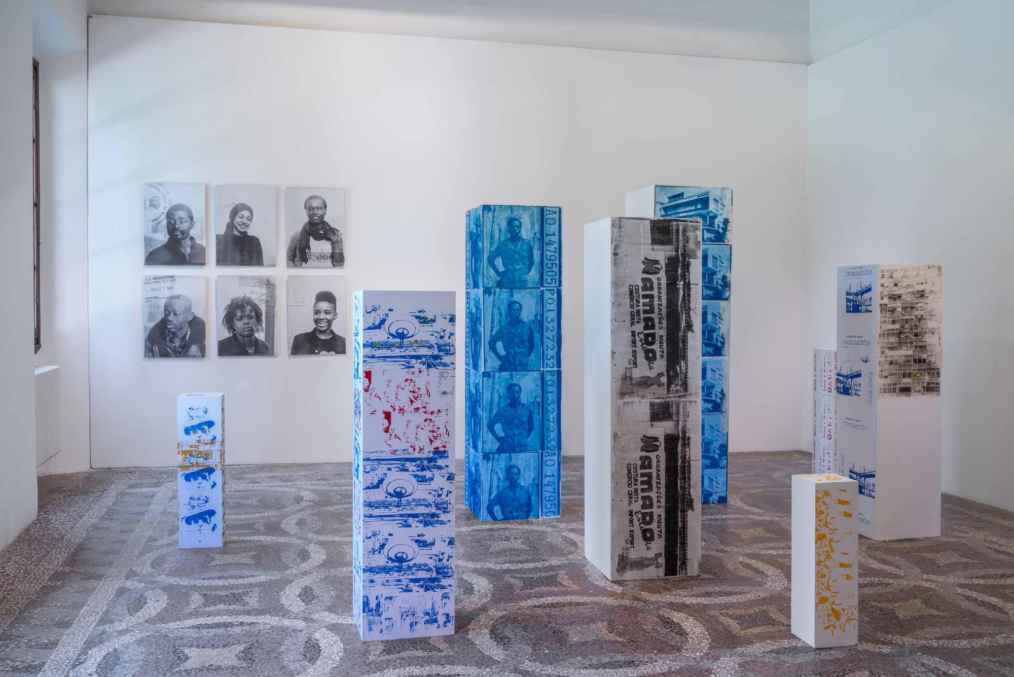 Delio_Jasse, <em>Schengen</em>, 2010, <em>The place to be</em>, 2015, Villa Romana, Florence, 2018; photo: OKNOstudio