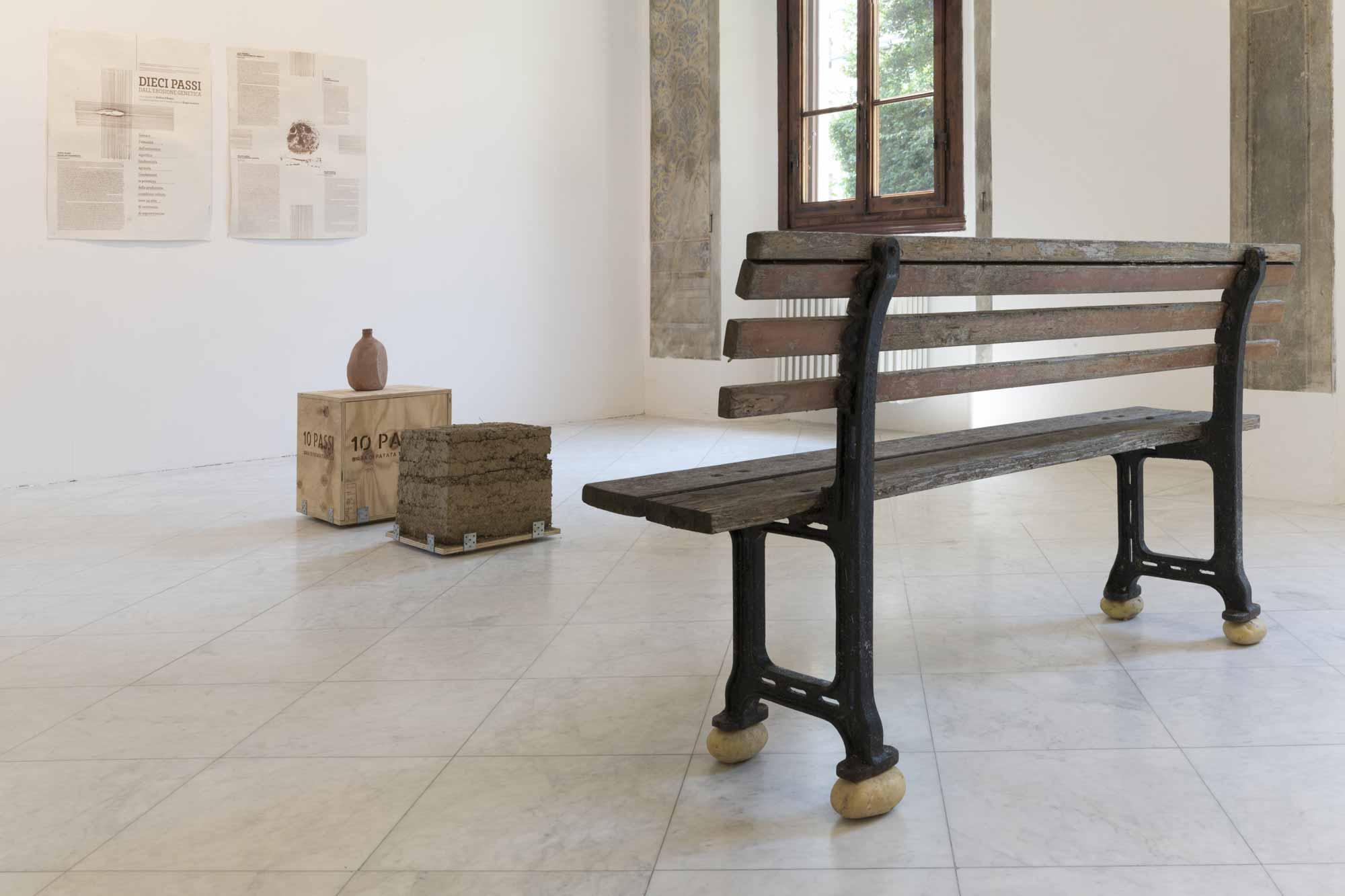 Andrea_d_Amore, <em>Ten Steps from Genetic Erosion</em>, 2017, Villa Romana, Florence; photo: OKNOstudio