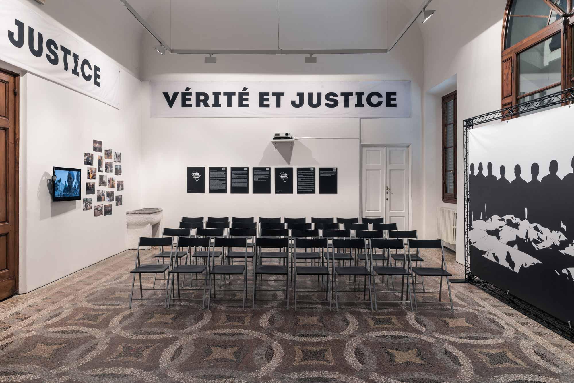 -Milo_Rau, <em>The Congo Tribunal</em>, Villa Romana, Florence, 2018; photo: OKNOstudio