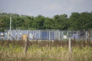 Thomas_Klipper, border fence Serbia-Hungary, 2016, photograph; courtesy: the artist