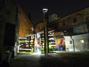 Thomas Kilpper, <em>A Lighthouse for Lampedusa</em>, 2010, transient spaces, Naples, courtesy: the artist