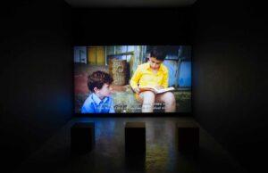 Mikhail Karikis, <em>Children of Unquiet</em>, 2014, exhibition view, Villa Romana, Florence; photo: OKNOstudio