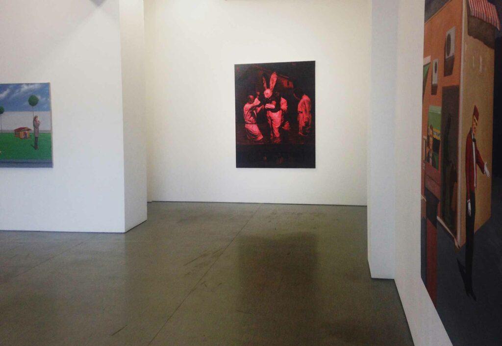Enkelejd_Zonja, Installation view, Irrgang Gallery, Berlin, 2016