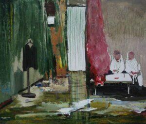 Enkelejd_Zonjal, <em>MARGAROZ</em>, 2012, 40 x 35 cm, oil on canvas