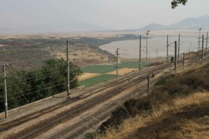 Judith_Raum_Eser, Baghdad railway line at the border between Turkey and Syria; photo: Judith Raum
