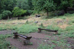 Judith_Raum_Eser, Remains of German steel sleepers, reused as water troughs, Taurus Mountains; photo: Judith Raum