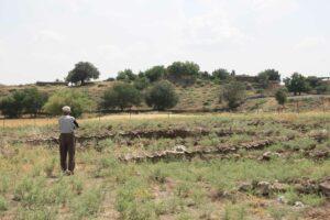 Judith_Raum_Eser, Sincirli, remains of German archaeological excavations along the Anatolian railway line; photo: Judith Raum