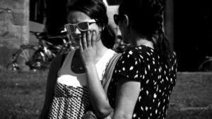 Maya_Schweizer, <em>La Corsa del Venditore/The Run of the Seller</em>, 2008, video, still