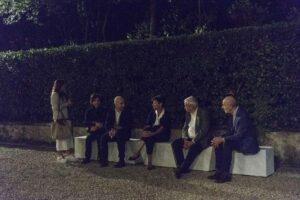 Bruno_Baltzer_01, La panchina di Luis Simon, 2019, Villa Romana, Florence; photo: Ela Bialkowska/OKNOstudio