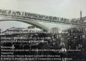 Matteo_Cavalleri_and_Luisa_Lorenza_Corna, Legal Disagreements/Disaccordi Legali, invitation card