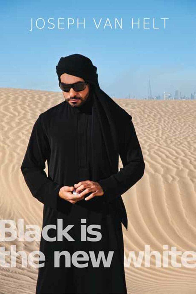 Nadia_Kaabi-Linke, Black is the New White, 2012, lightbox; photo: Nadia Kaabi-Linke