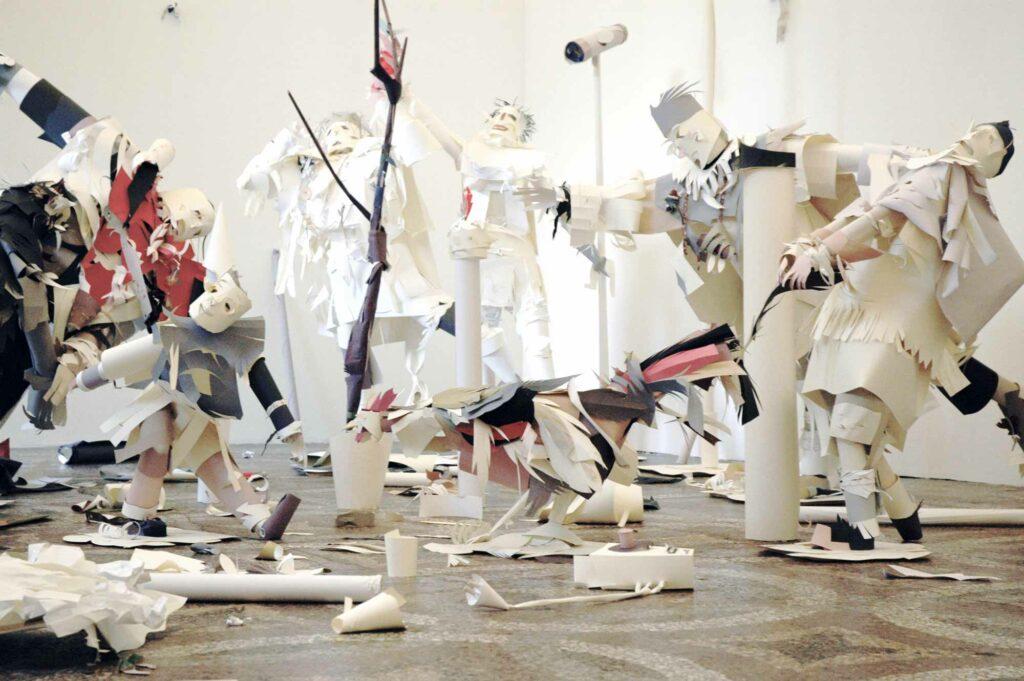 Karen_Sargsyan, Philosophy in bed or Eva's aria, 2008, exhibitions views, Villa Romana, Florence; photo: Villa Romana