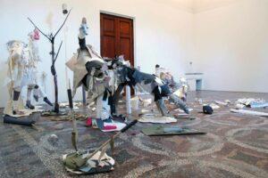 Karen_Sargsyan, <em>Philosophy in bed or Eva's aria</em>, 2008, exhibitions views, Villa Romana, Florence; photo: Villa Romana