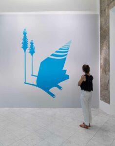 Mona_Marzouk, <em>RENOVABITVR (RENEWAL)</em>, 2015, exhibition view, 2015, Villa Romana, Florence; photo: OKNOstudio