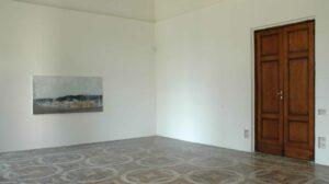 Edi Hila, <em>Senza Angeli</em>, 2016, exhibition view, Villa Romana Florence; photo: OKNOstudio