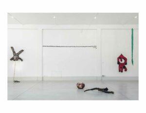 Farkhondeh_Shahroudi, Spatial Poetry, 2017, exhibition view, Lottozero textile laboratories, Prato; photo: Rachele Salvioli