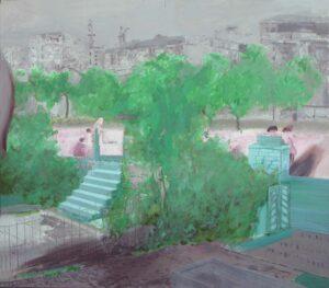 _Edi_Hila_<em>Periferi 3</em>, 2011, oil on canvas, 125x142 cm
