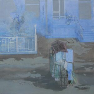_Edi_Hila_<em>Periferi 6</em>, 2011, oil on canvas, 140x140 cm