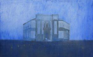 _Edi_Hila_<em>Municipalite de Tirana</em>, 2011, oil on canvas, 105x 175,5