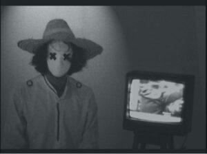 Zineb-Sedira <em>Sans-Titre</em>, 2012, video installation (loop), 1'09''