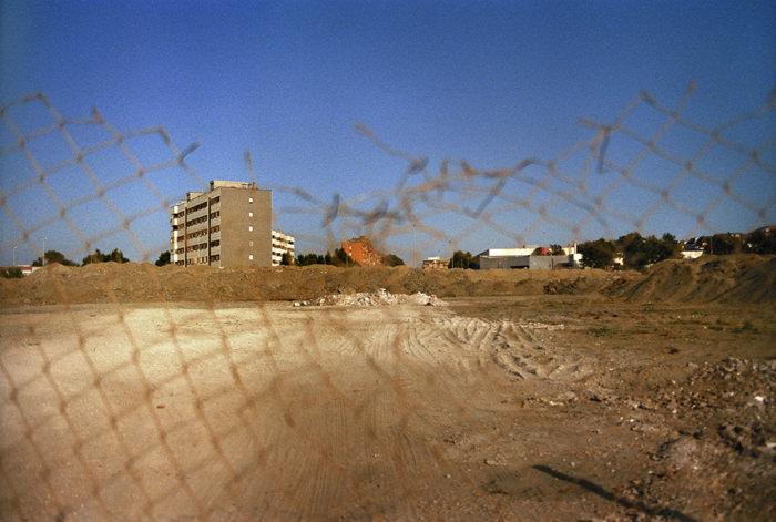 Il luogo di morte di Pasolini I, colour photograph on Alu Dibond, 75 x 50 cm, framed, 1999