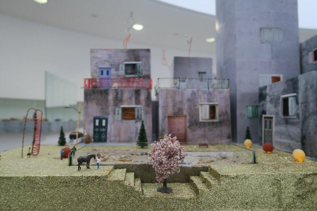 Qalandia 2087, 2009, mixed media installation, 5x9m