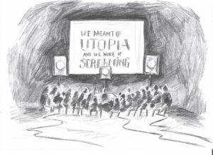 Archive of YR (sketch by Myriam Pruvot)