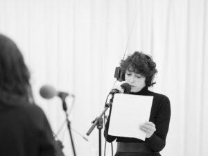 Documentation of Episode 1 performance at KANAL- Centre Pompidou Brussels broadcast on STUDIO K radio, Jan. 2021. Valérie Nagant