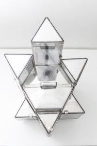 Abrahamic Displays (Star of David), view from above; photo: the artist